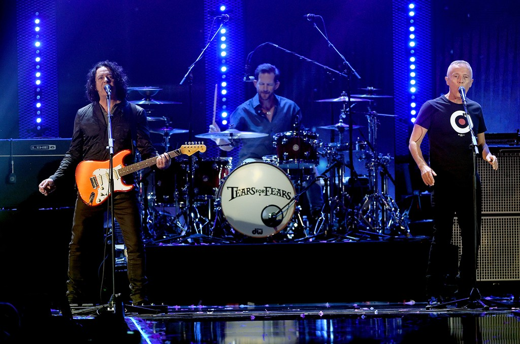 Tears for Fears perform onstage at the 2016 iHeartRadio Music Festival
