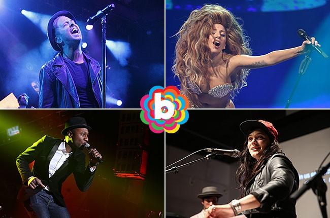 Ryan Tedder, Lady Gaga, Soko and Aloe Blacc