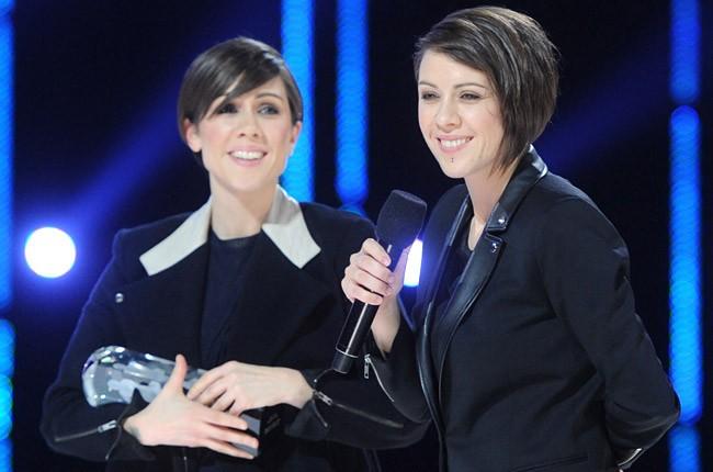 Tegan and Sara at the Juno Awards, March 30