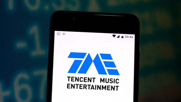 billboard.com - Glenn Peoples - Tencent Music Entertainment Shares Jump 21% on News of Lazy Audio Acquisition