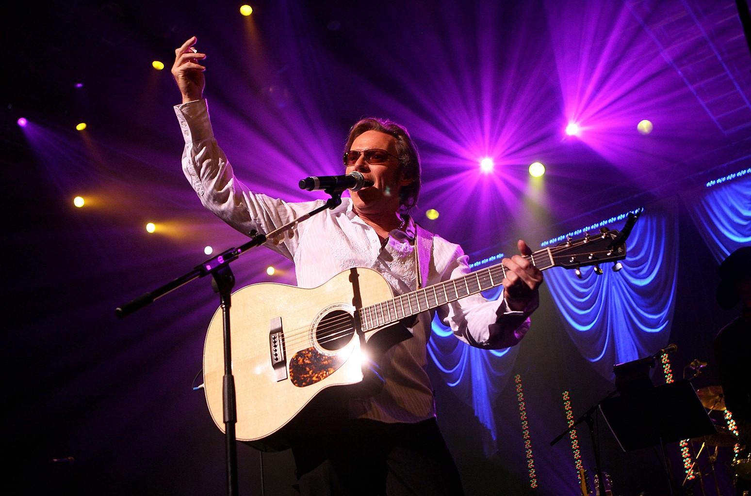 Terry McBride performs in Las Vegas.