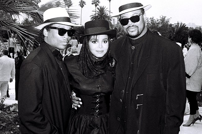 Terry Lewis, Janet Jackson and Jimmy Jam in 1987.