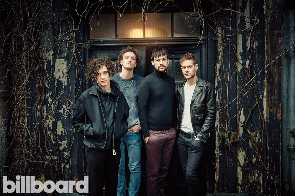 The 1975 photographed at The House Next Door in London on Feb. 2, 2016.