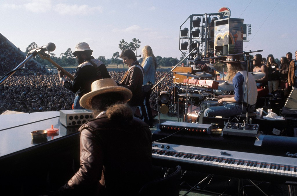The Allman Brothers perform in 1970.