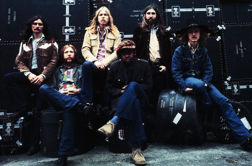 The Allman Brothers in 1970.