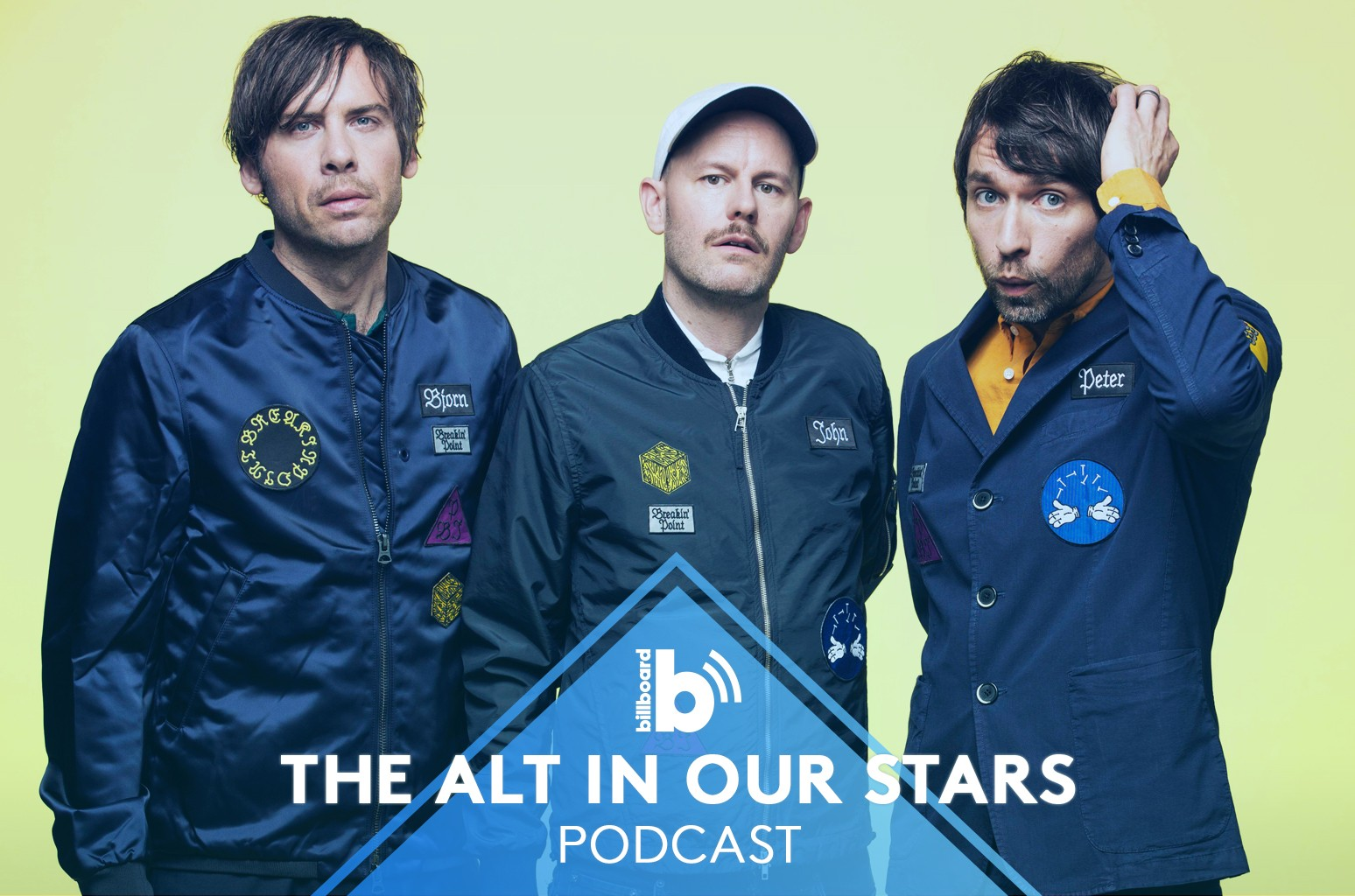 The Alt in Our Stars Podcast featuring: Peter Bjorn and John