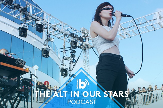The Alt in Our Stars Podcast featuring: Chvrches