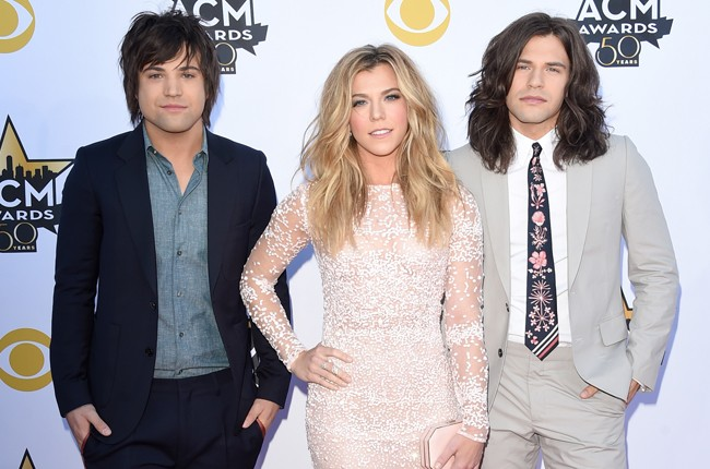 The Band Perry attend the 50th Academy Of Country Music Awards