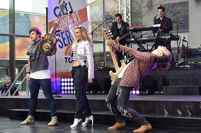 the band perry today show 2016