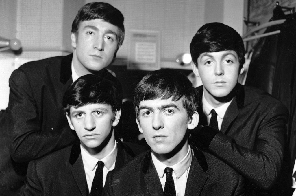 The Beatles photographed in 1963