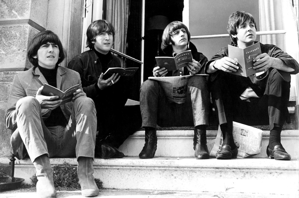 The Beatles photographed in 1965.