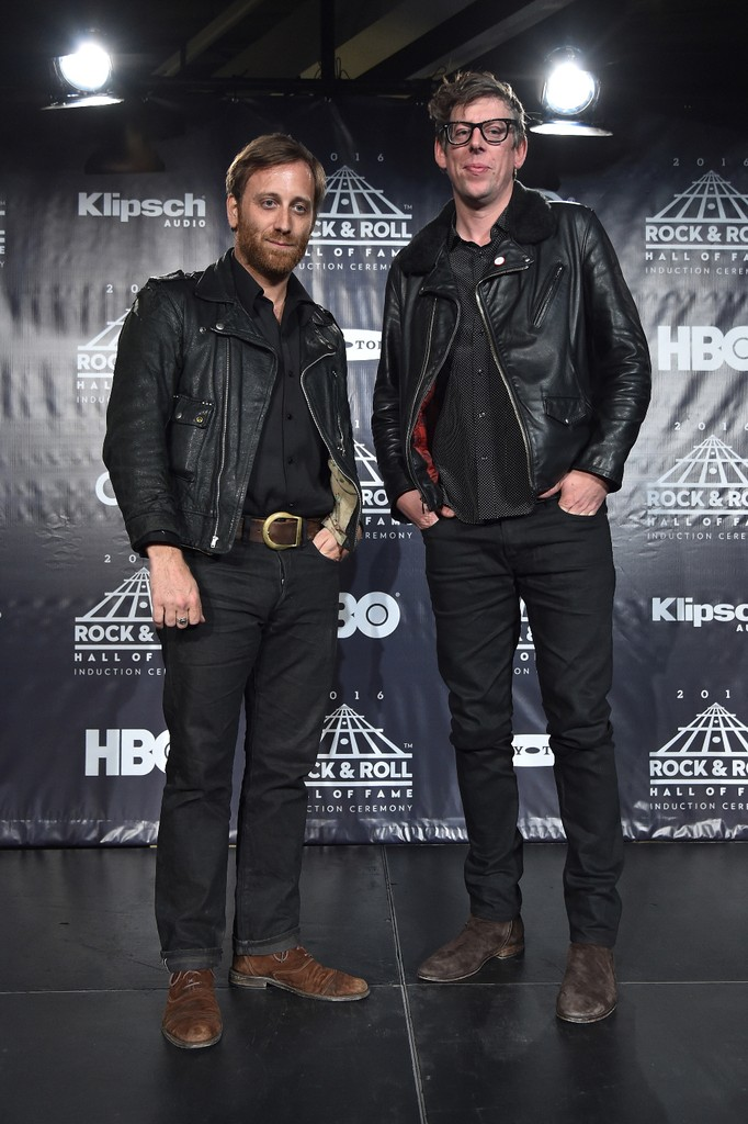 The Black Keys at the Rock Hall Induction