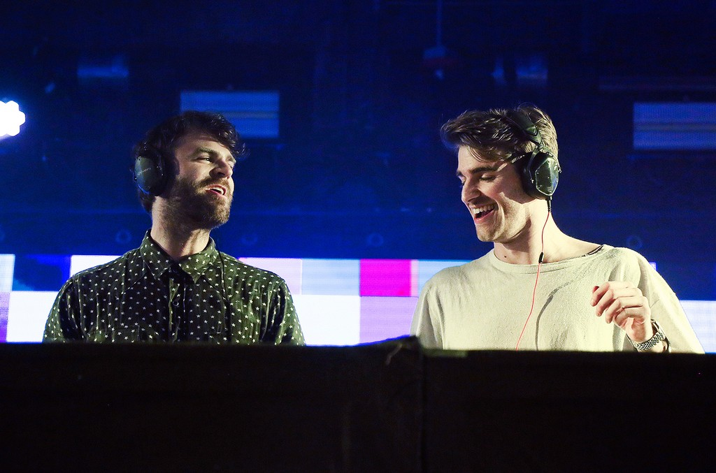 The Chainsmokers perform at the SONY Lost in Music Showcase during the South by Southwest Music Festival on March 17, 2017 in Austin, Texas.
