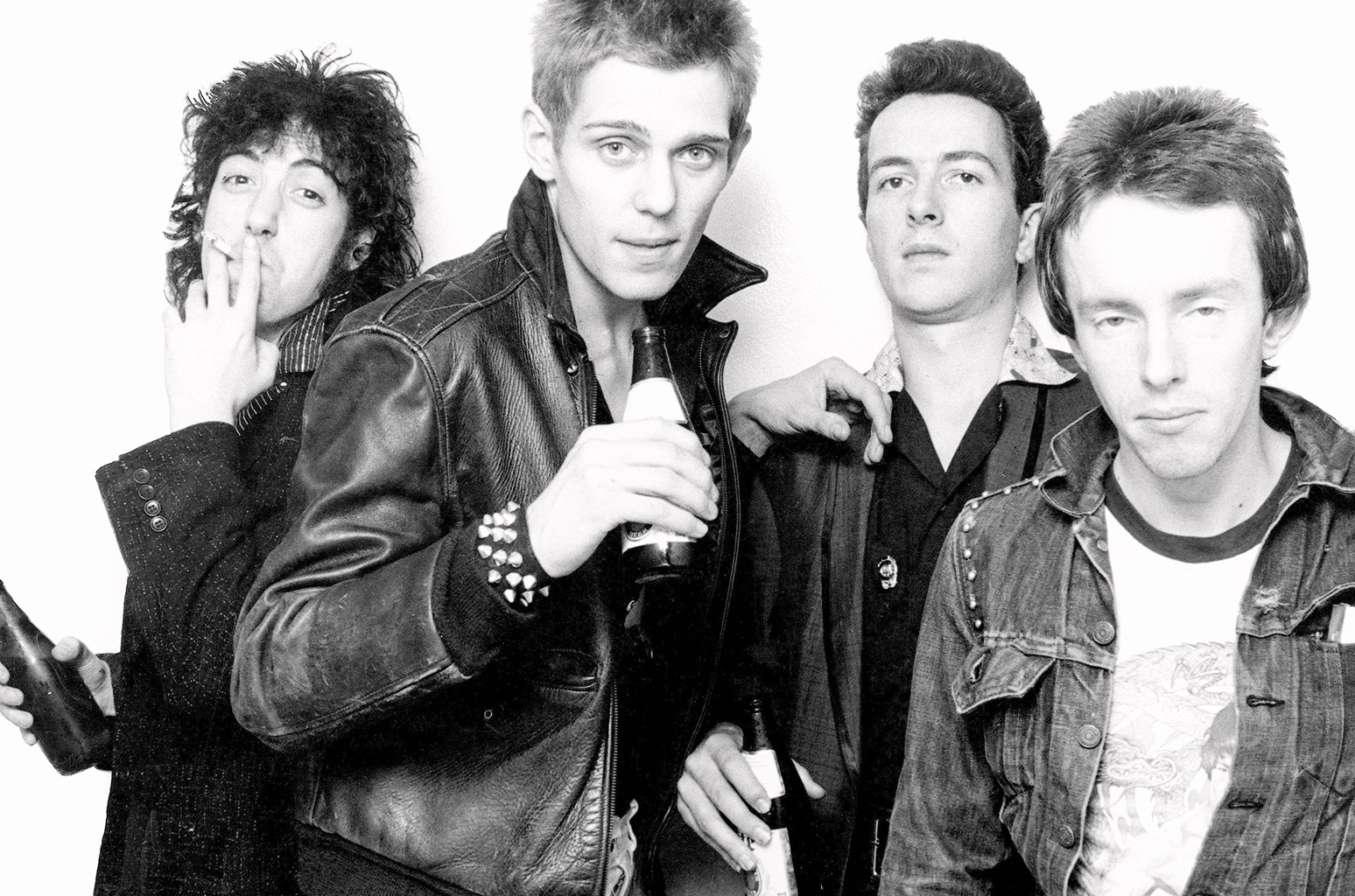 The Clash photographed in New York City in 1978.