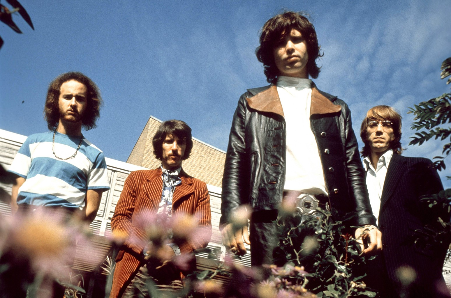 The Doors photographed in Germany in 1968.
