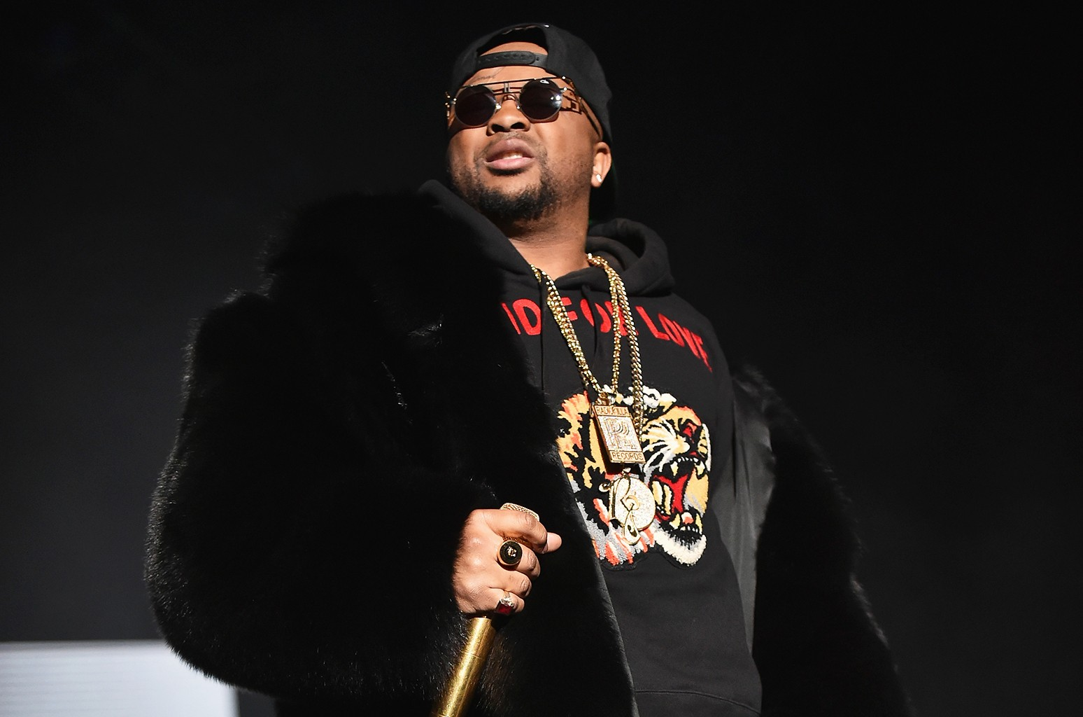 The Dream performs at Philips Arena on Dec. 10, 2016 in Atlanta.