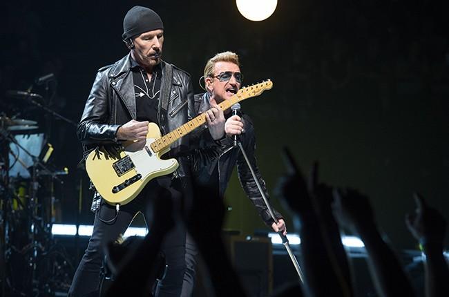 Bono The Edge U2