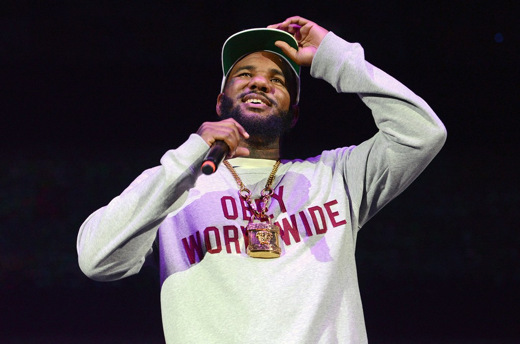 The Game performs at Irvine Meadows Amphitheatre on July 18, 2015 in Irvine, Calif.