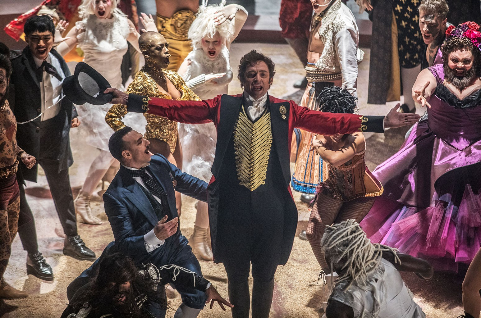 Hugh Jackman as P.T. Barnum in 'The Greatest Showman'