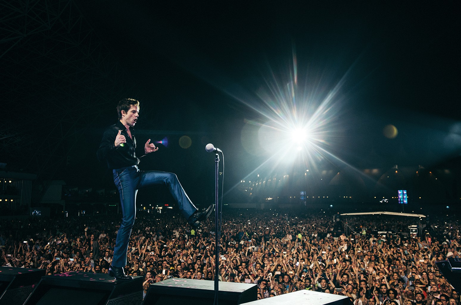 Brandon Flowers and The Killers
