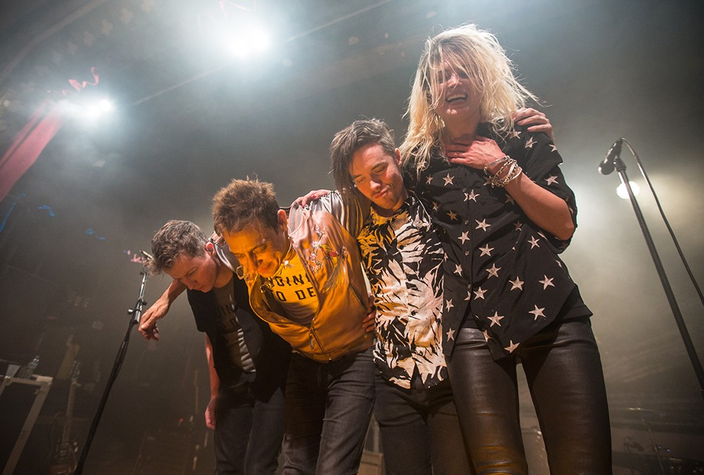 The Kills Perform in New York City