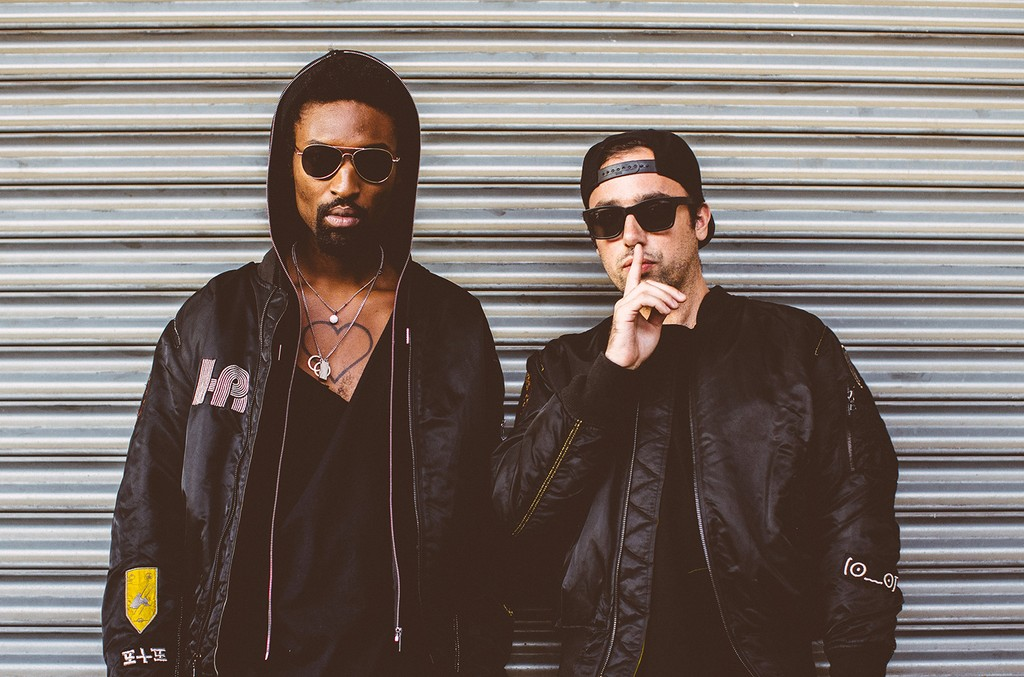 The Knocks photographed in 2015