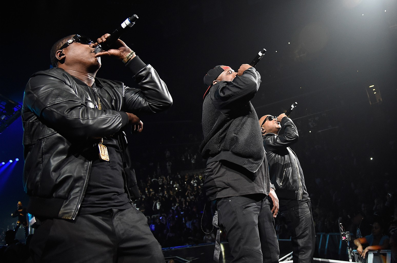 The Lox perform at Barclays Center on May 21, 2016 in New York City.
