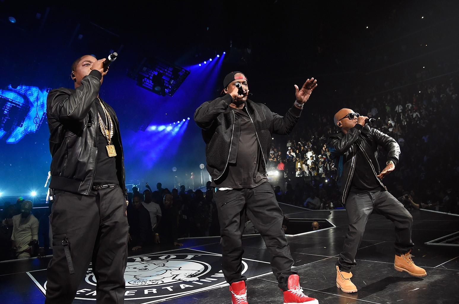 Jadakiss, Sheek Louch and Styles P of The Lox