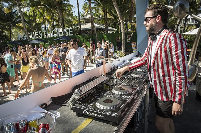 The Magician performs at Red Bull Guest House in Miami, FL, USA on 29 March, 2015.