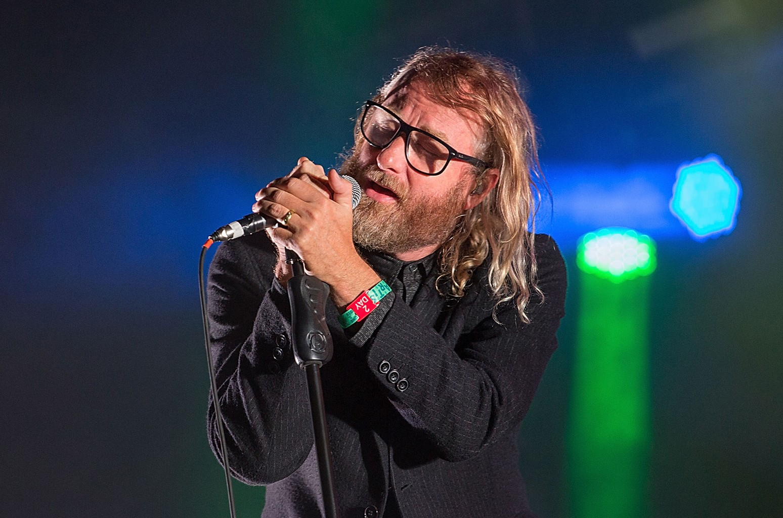 The National perform during Free Press Summer Festival