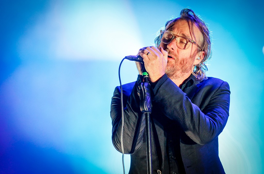 Matt Berninger of The National performs on Day 3 of the Ottawa Folk Festival on Sept. 12, 2014 in Ottawa, Canada.