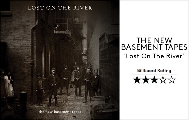 The New Basement Tapes -- Lost On The River -- 2014