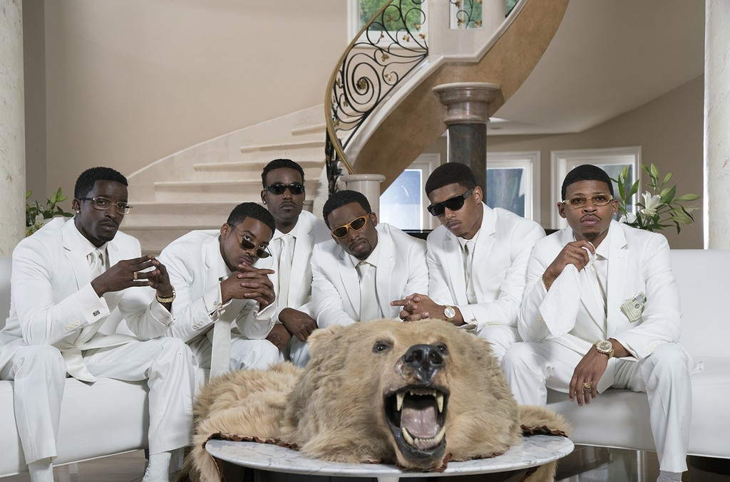 The cast of The New Edition Story.