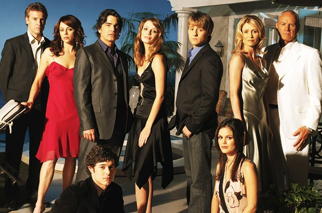 """The cast of Fox's """"The OC"""", season two."""