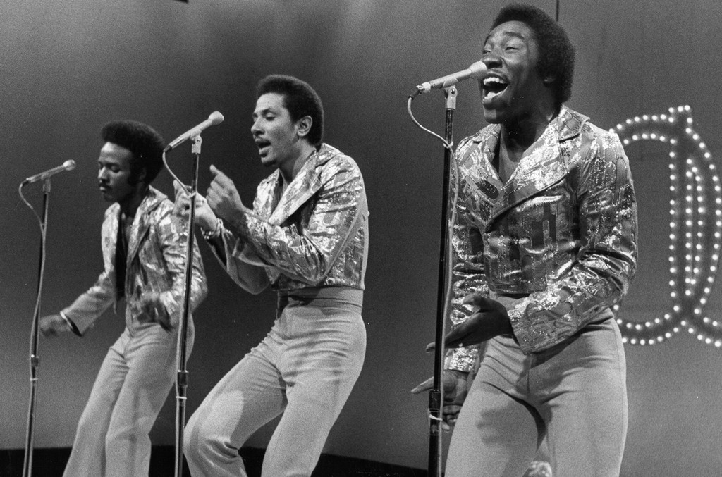 The O'Jays photographed in the 1970s
