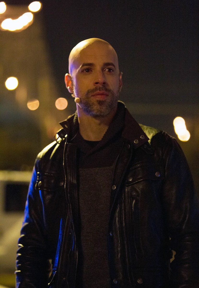 Chris Daughtry as Judas? in The Passion