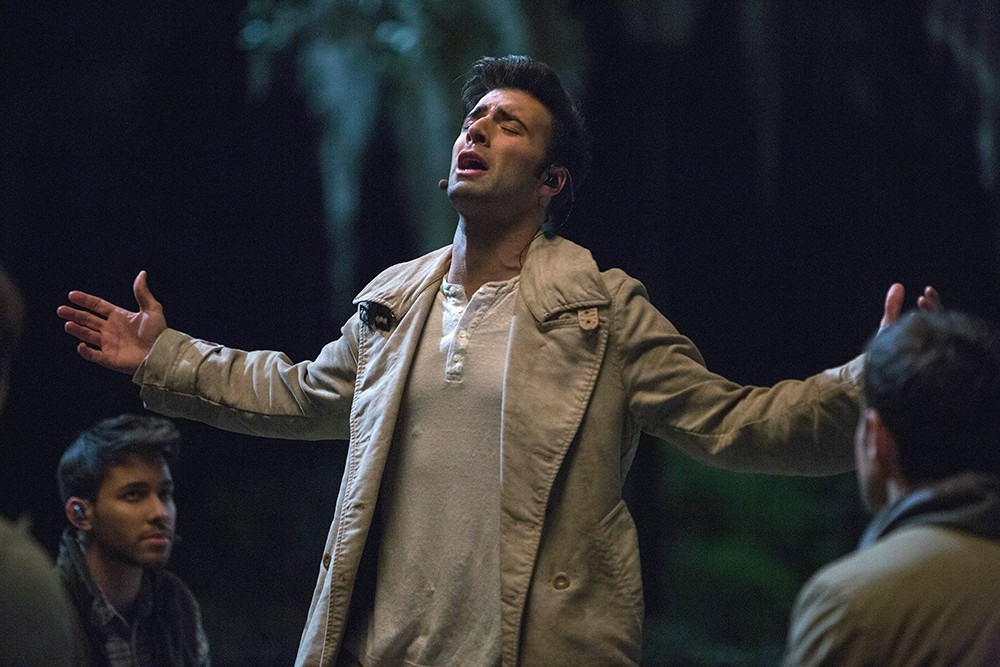 Jencarlos Canela as Jesus? in The Passion