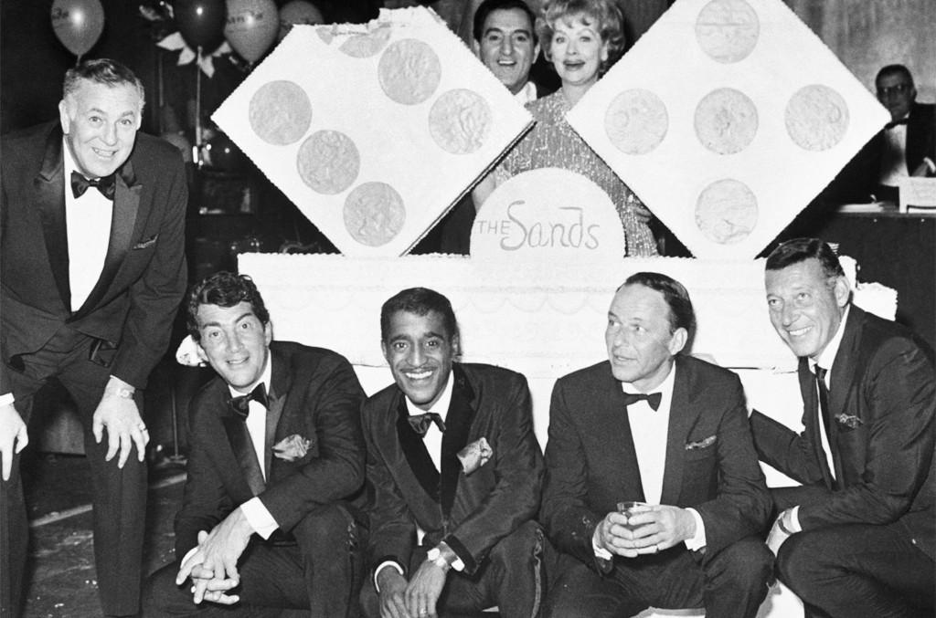 Dean Martin, Sammy Davis Jr., Danny Thomas, Lucille Ball, Frank Sinatra