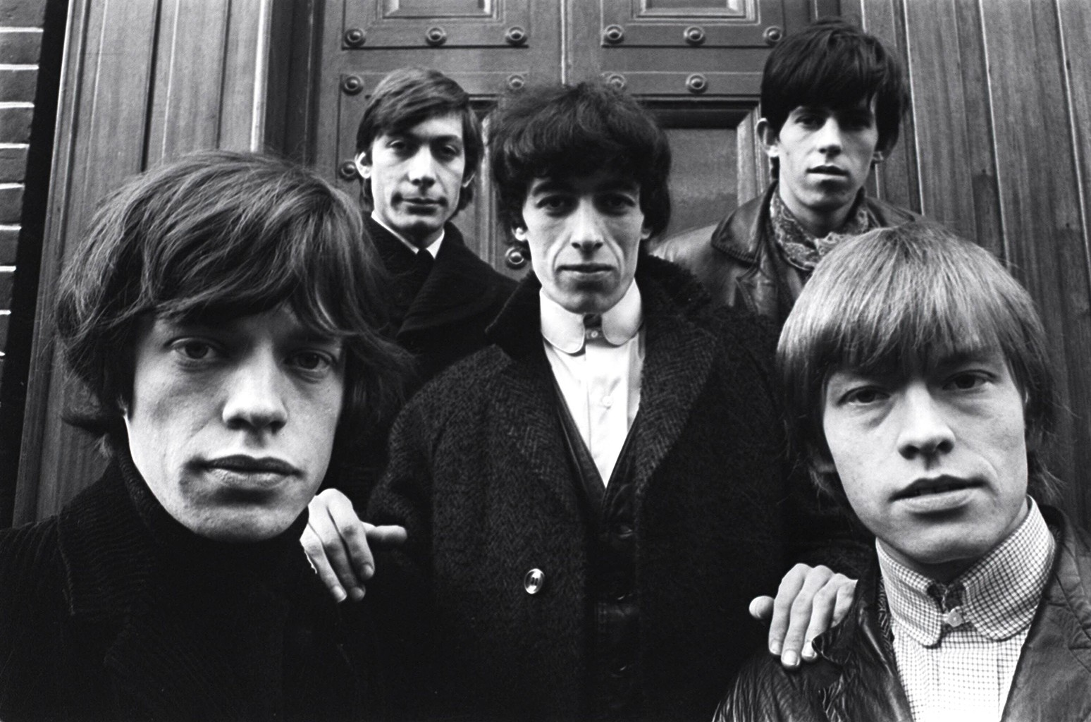 The Rolling Stones photographed in 1964.    Terry O'Neill/REX/Shutterstock