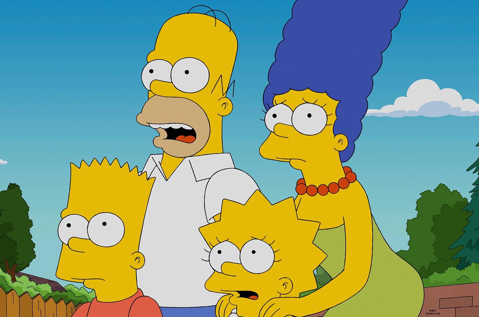 The Simpsons on FOX.