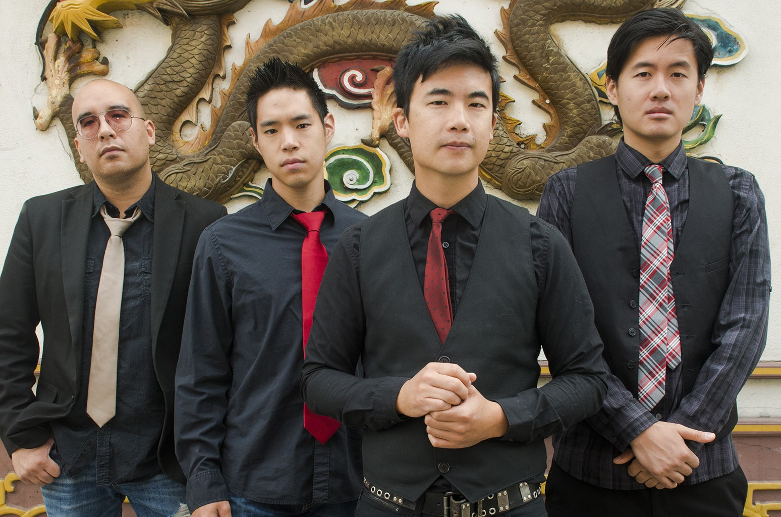 The Slants photographed in 2015