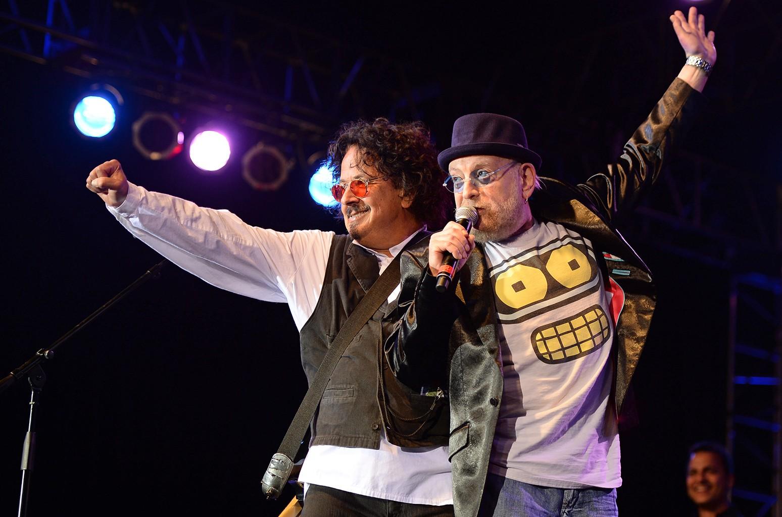 Mark Volman and Howard Kaylan of The Turtles