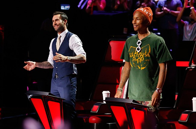 the-voice-Live-Playoffs-adam-levine-pharrell-williams-april-2016