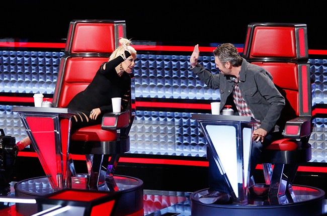 Christina Aguilera, Blake Shelton, the voice