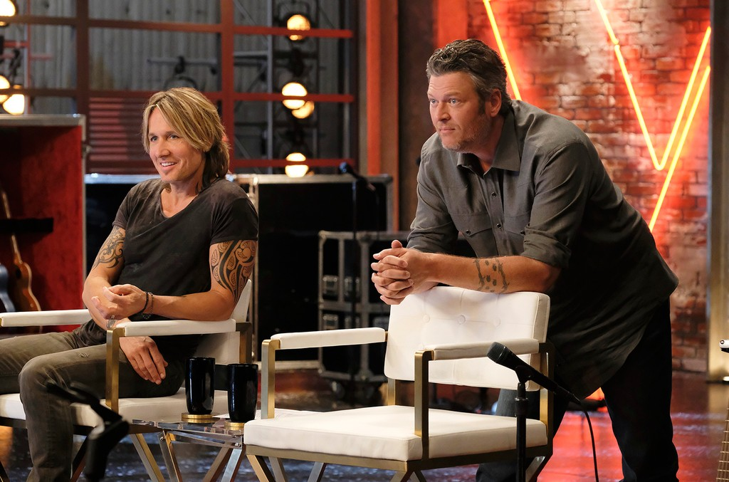 Keith Urban and Blake Shelton