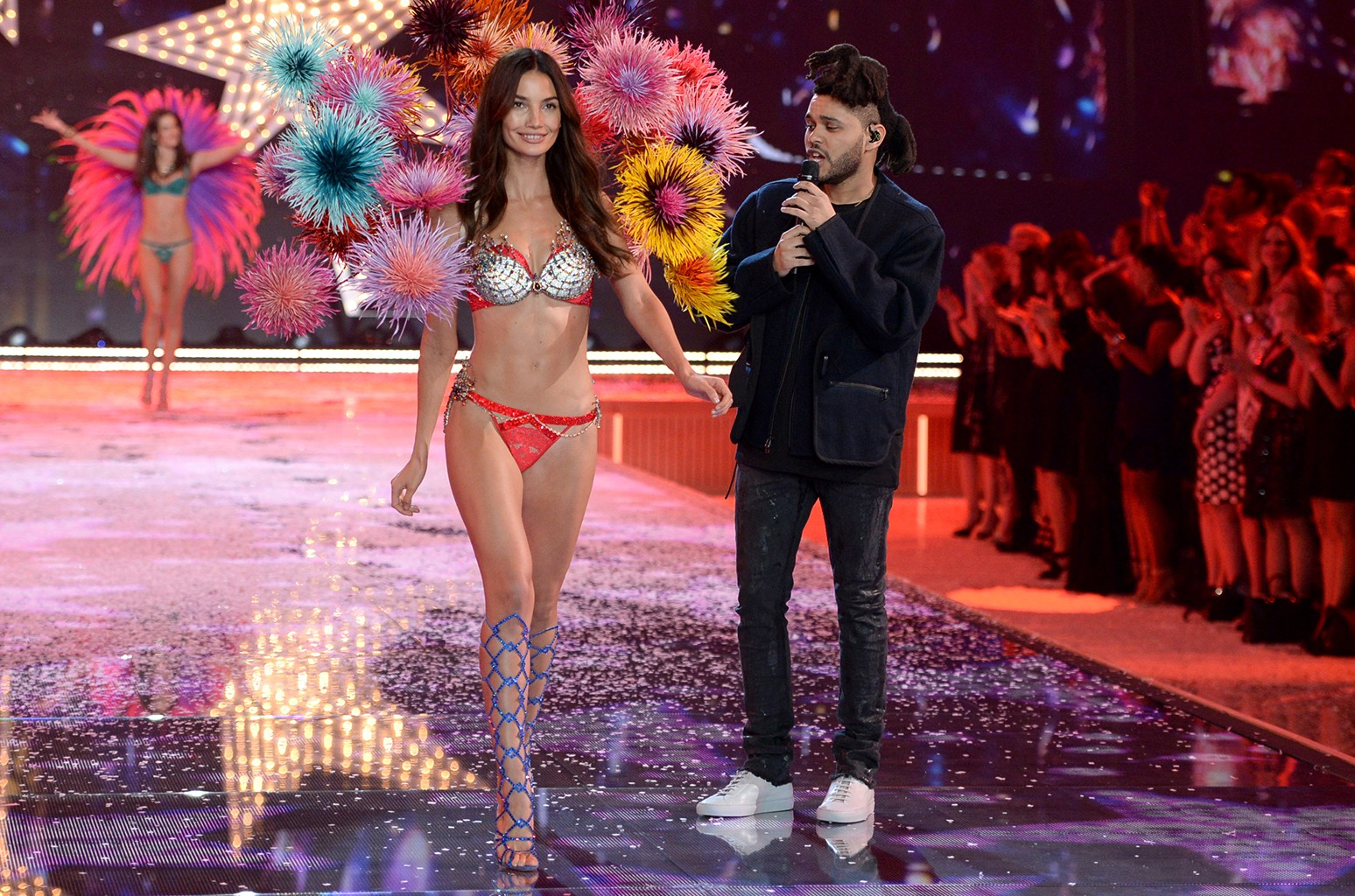The Weeknd performs during the Victoria's Secret Fashion Show