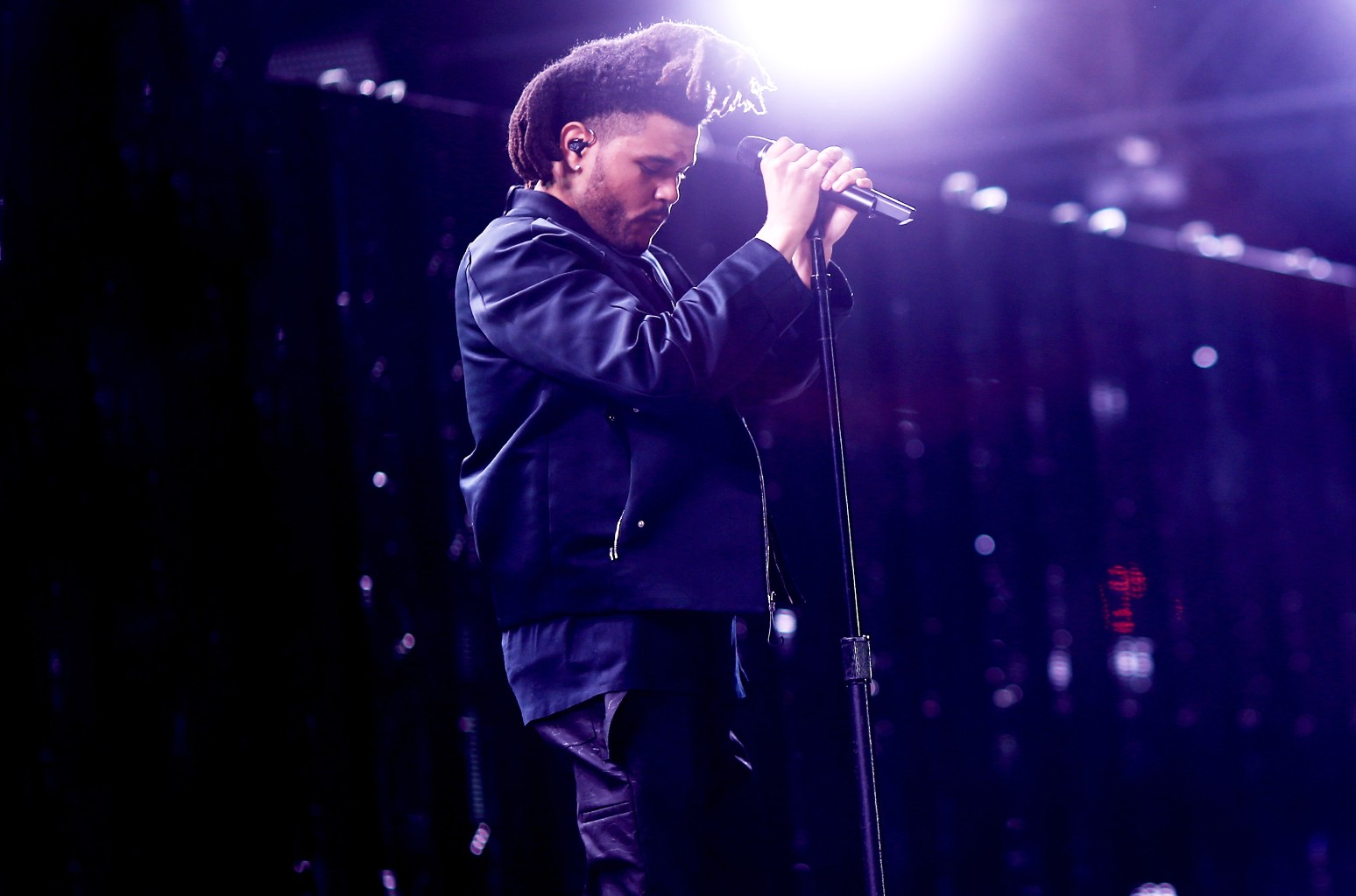 The Weeknd performs at Coachella