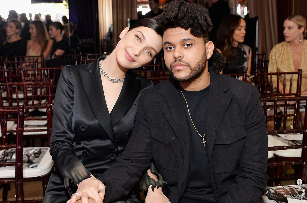 """Bella Hadid and The Weeknd attend The Daily Front Row """"Fashion Los Angeles Awards"""" 2016 at Sunset Tower Hotel on March 20, 2016 in West Hollywood, Calif."""