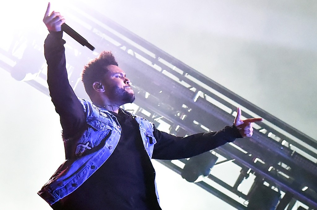 The Weeknd performs onstage at What Stage during Day 4 of the 2017 Bonnaroo Arts And Music Festival on June 11, 2017 in Manchester, Tenn.