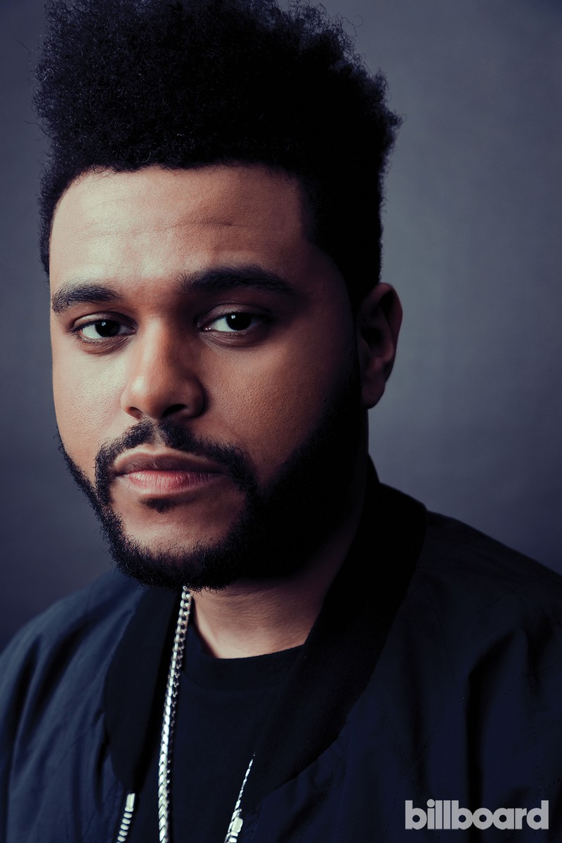 The Weeknd photographed on Feb. 9 at Billboard Power 100 in West Hollywood, Calif.